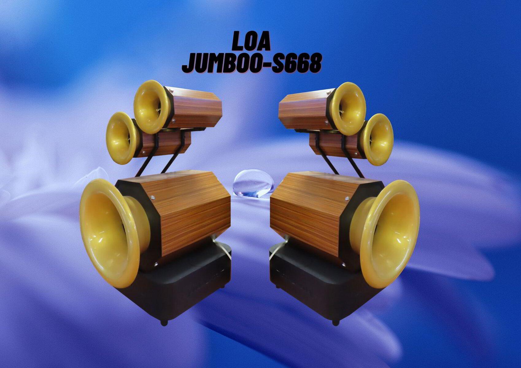 Loa JUMBOO-S668