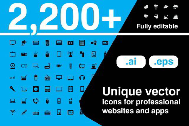 Download 2235 Vector icons