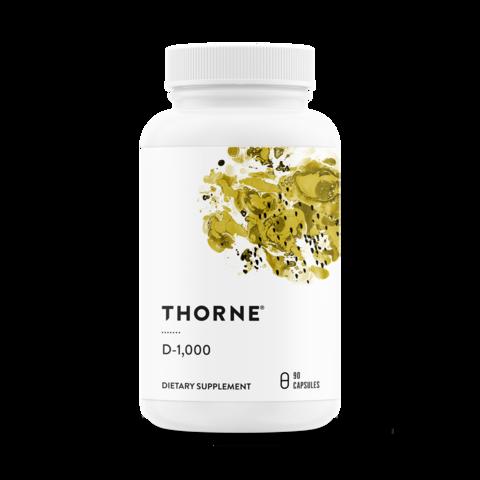 BIRTHFIT和Thorne Partnership -维生素d - 1000