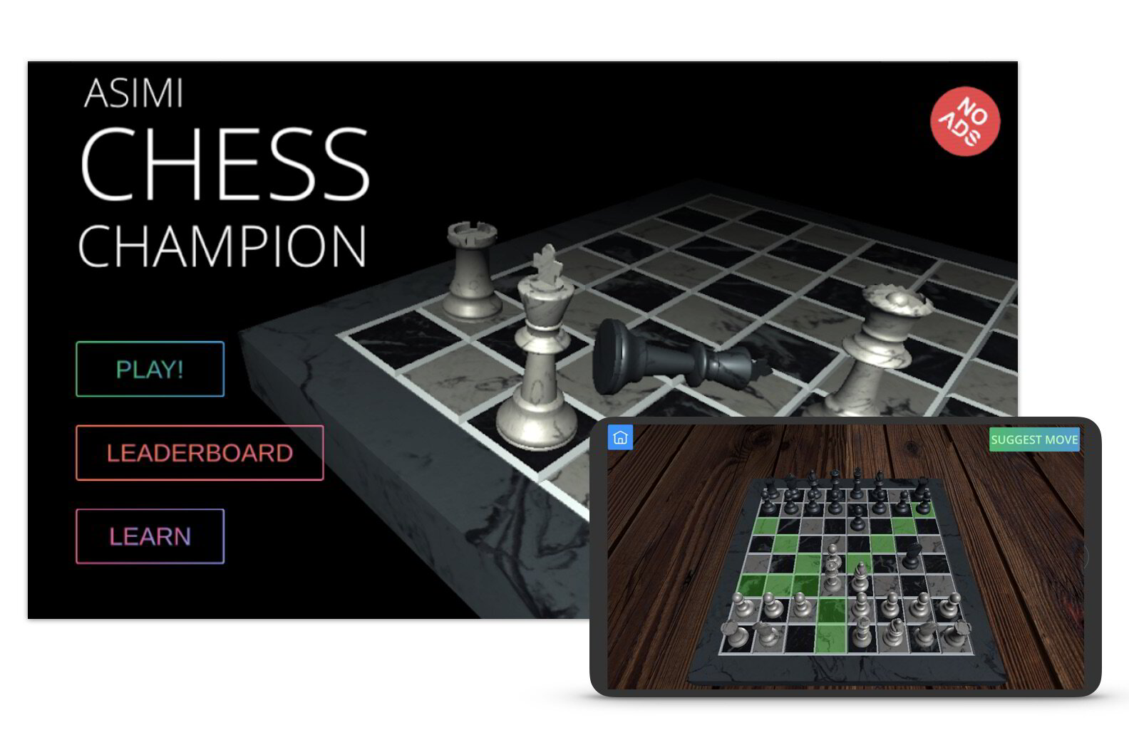Asimi play chess champion
