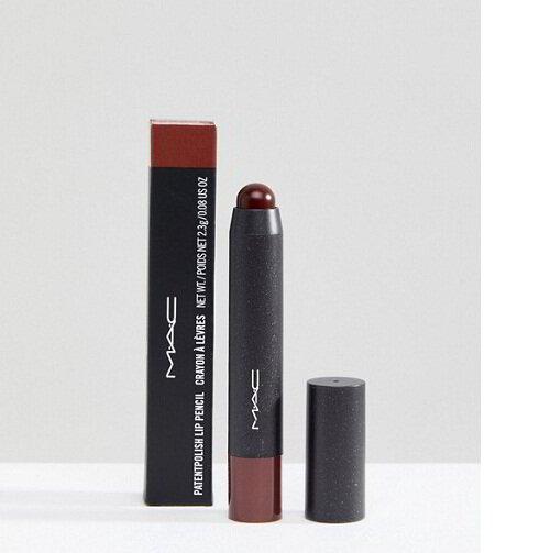 Mac patentpolish lip pencil sultana color chart